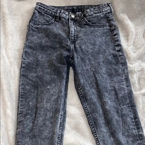 Black & Grey skinny jeans